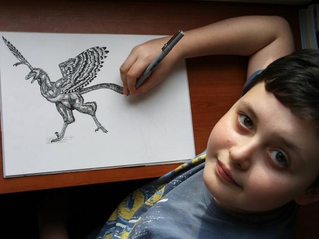 Dušan Krtolica ma obecnie 12 lat