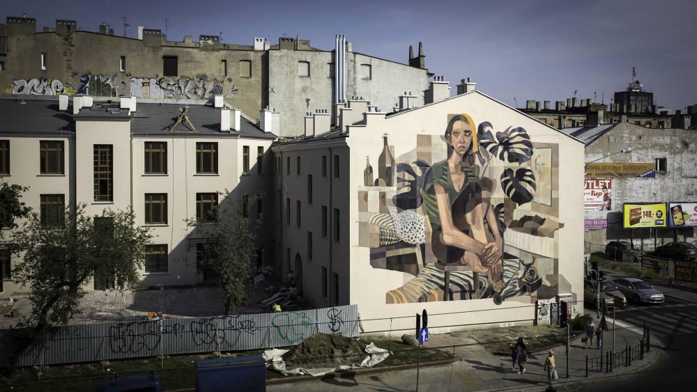 Autorem muralu jest rosyjski artysta Morik. Fot Urban Forms