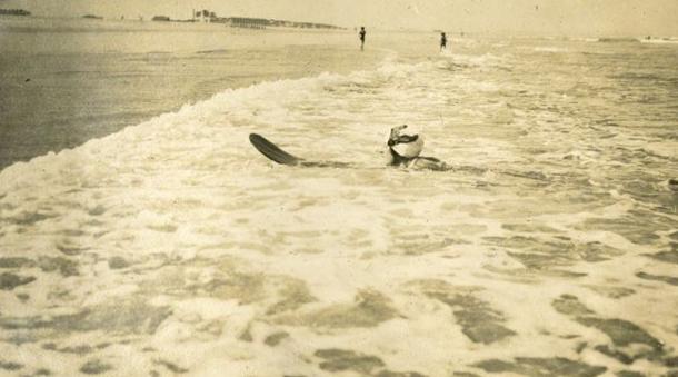 Muizenberg, 1922 r. Fot. bbc.com