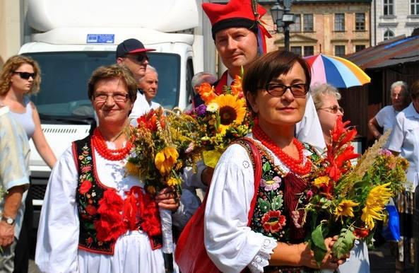 Cudowna Moc Bukietów w Krakowie. Fot. Justyna Tomaszewska (źródło: Interia)