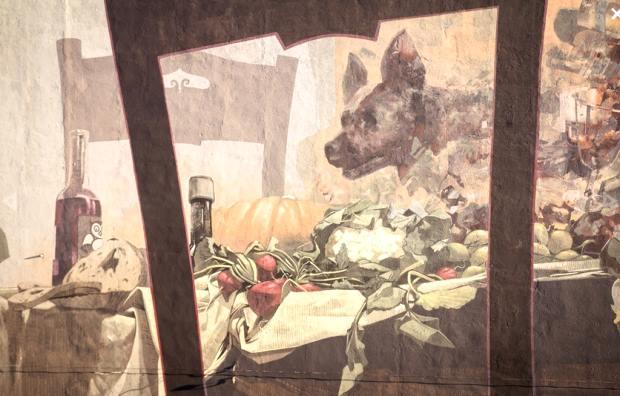Mural - detal